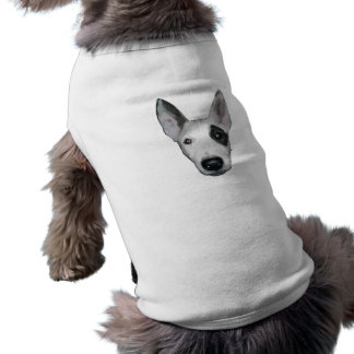 T-shirt Habillement d'animal familier de Bullterrier