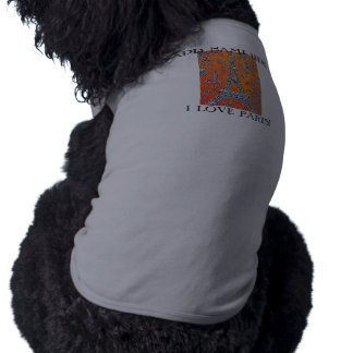 T-shirt Habillement d'animal familier de l'animal familier