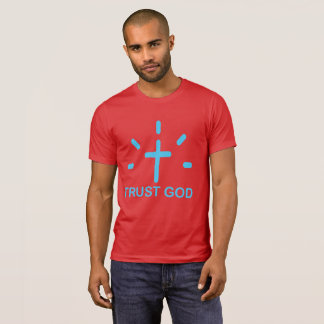 T-shirt Habillement de Dieu de confiance