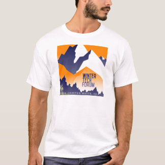 T-shirt Habillement de Fest de technologie d'hiver