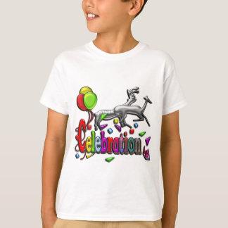 T-shirt Habillement d'espace libre d'art numérique de