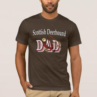 T-shirt Habillement écossais de papa de limier