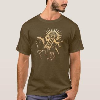T-shirt HABILLEMENT folklorique en chef de Natif américain