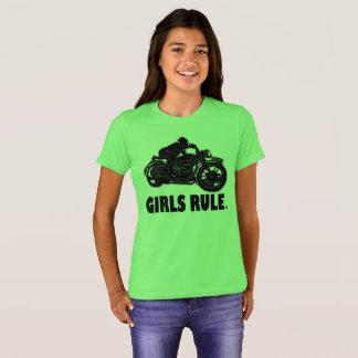 T-shirt Habillements d'enfants de vêtements de moto de