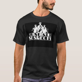 T-shirt habituel de fan de bande de suspects