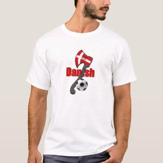 T-shirt Hache danoise de Viking de dynamite de fudbol de