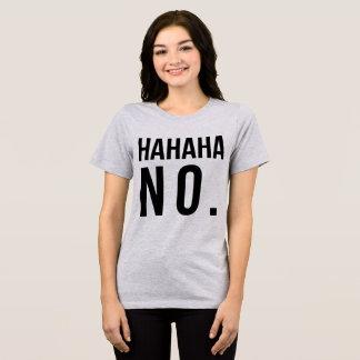 T-shirt Hahaha de Tumblr aucun