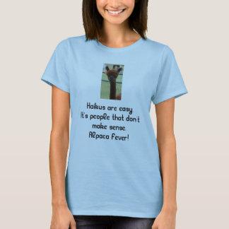T-shirt Haiku d'alpaga