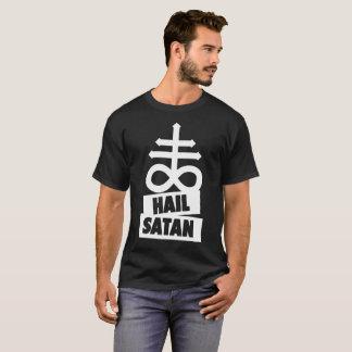 T-shirt Hail satan - 666 Cult croix antichrétien - Shirt