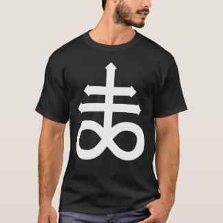 T-shirt Hail satan - Pentagram - croix - 666 - Shirt