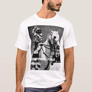 T-shirt Haile Selassie I - maréchal de champ