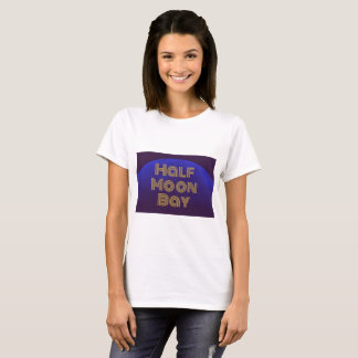 T-shirt Half Moon Bay la Californie