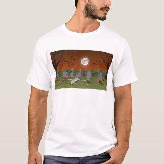 T-shirt Halloween : Scène de cimetière :