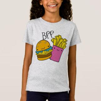 T-Shirt Hamburger et fritures BFF