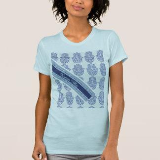 T-shirt Hamsa*Blue