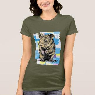 T-shirt Hamster peint