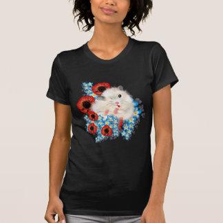 T-shirt Hamster syrien de sable blanc mignon superbe en
