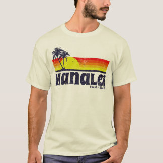 T-shirt Hanalei vintage Kauai Hawaï