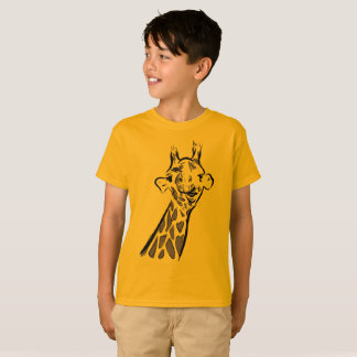 T-shirt Happy le giraffe
