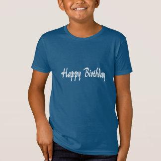 T-Shirt HappyBIRTHDAY heureux+ANNIVERSAIRE