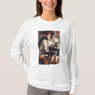 T-shirt Harlequin avec une guitare, 1917