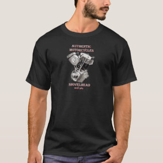 T-shirt Harley Davidson - Authentic Motorcycles Shovelhead
