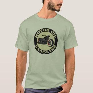 T-shirt Harley Davidson - Bobber - moteur huile - Gasoline