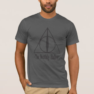 T-shirt Harry Potter | le de mort sanctifie l'emblème