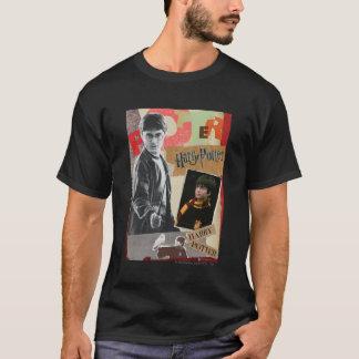 T-shirt Harry Potter puis et maintenant