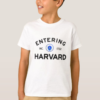 T-shirt Harvard entrant