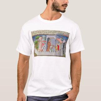 T-shirt Hassan i Sabbah menant les initiations