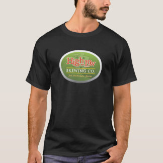 T-shirt haut-bas de brasserie