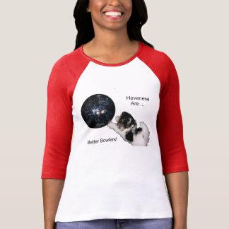 T-shirt Havanese sont de meilleurs lanceurs