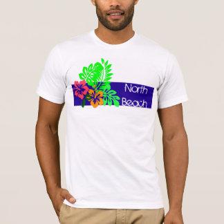 T-shirt hawaïen de Surffers de ketmie