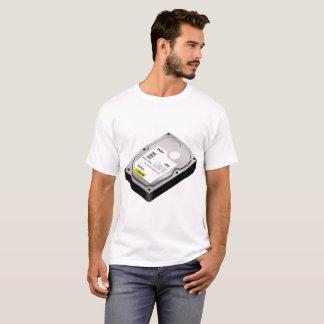 T-shirt Hd Disque Rigide Hard Lecteur de disques