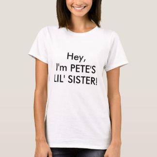 T-shirt Hé, je suis PETER, SOEUR de LIL !