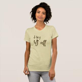 T-shirt Hé vous