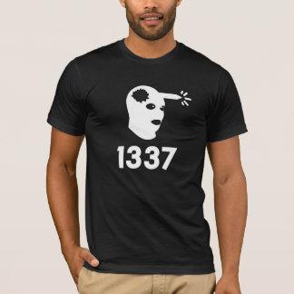 T-shirt headshot 1337
