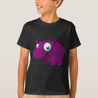 T-shirt Heather l'hippopotame