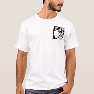 T-shirt Helen Keller et son pitbull Phiz