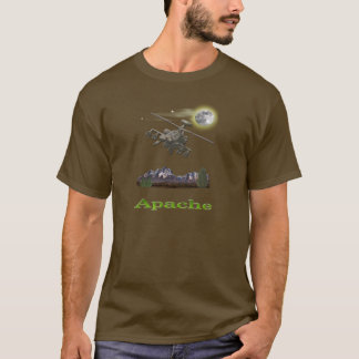 T-shirt Hélicoptère d'Apache