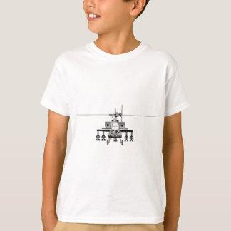 T-shirt Hélicoptère d'Apache - de front