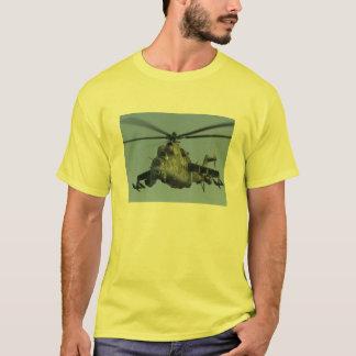 T-shirt hélicoptère de combat