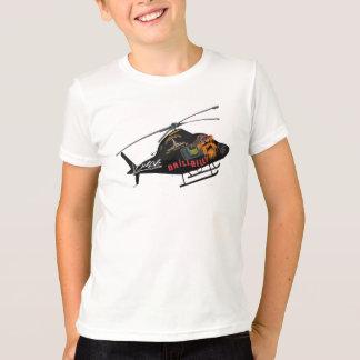 T-shirt HÉLICOPTÈRE de gisement de pétrole d'ENFANTS '
