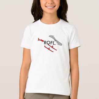 T-shirt Hélicoptère de Rofl