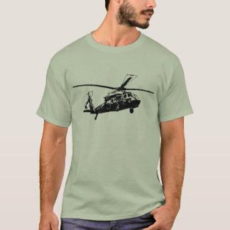 T-shirt Hélicoptère de service