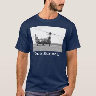 T-shirt Hélicoptère de vieille école