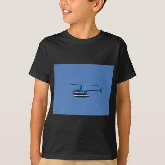 T-shirt Hélicoptère R44 avec des flotteurs