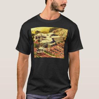 T-shirt Hélicoptères de police régionaux de bâtiment de