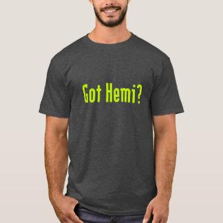 T-shirt Hemi obtenu ?